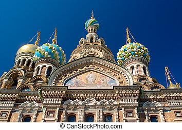 russia., templo, st.petersburg., spas-na-krovi.