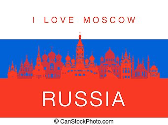 Russia Travel Landmarks.