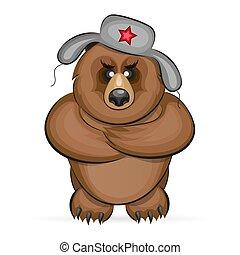Russian angry bear