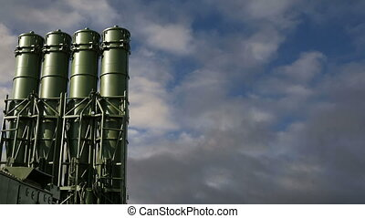 Russian anti-aircraft missiles