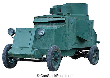 Russian armored car