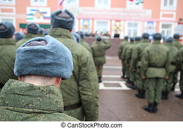 Russian army.