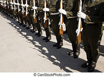 Russian army - Victory day in Russia,9 may (editorial photo,...