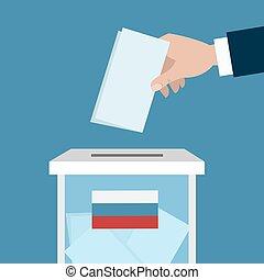 Russian ballot box.