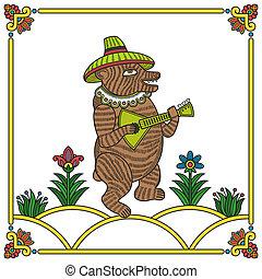 Russian bear 01