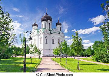 Russian Church in Pishkin, St. Petersburg. - Russian Church...