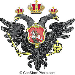 Russian coat of arms vector