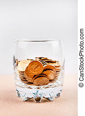 Coins in the Glass