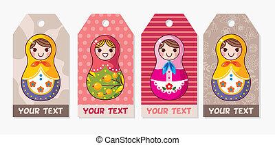 Russian Doll card  - Russian Doll card