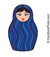 Russian dolls - matryoshka.