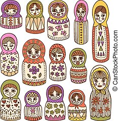 russian dolls set