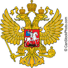 Russian eagle - Various vector flags, state symbols, emblems...