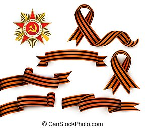 Russian Georgian ribbons, Order of Patriotic War