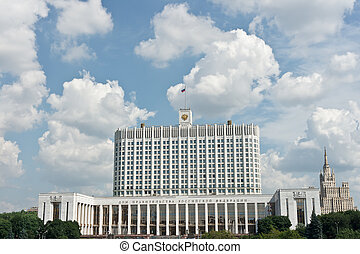 Russian House of Government in Moscow, Russia