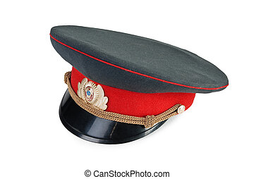 russian military officer cap