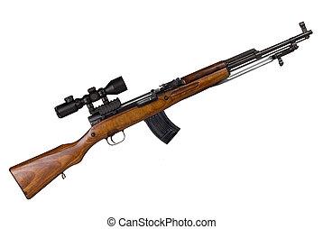 Russian Military Rifle