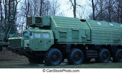 """Russian mobile missile system """"Poplar"""""""