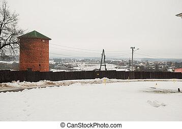 Russian monastery Davydova pustyn