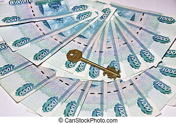 Russian money and the key
