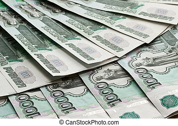 Russian money. Background