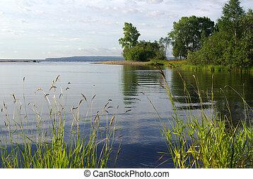 The Republic of Karelia. Shore of Lake Onega