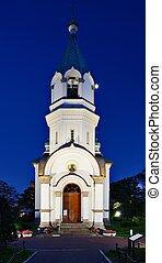 Russian Orthodox Church in Hakodate, Hokkaido, Japan.