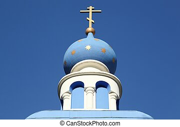 Russian orthodox church in Lyon, France