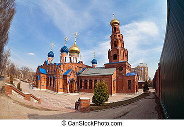 Russian orthodox church in Samara, Russia
