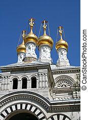 Russian Orthodox church - Russian Eastern orthodox church in...