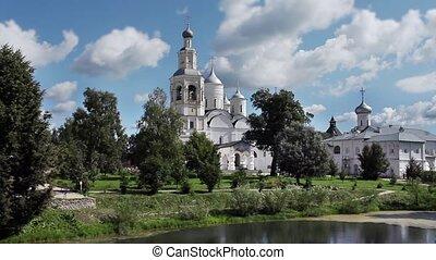 Russian Orthodox monastery - view of the Savior- Prilutsky...