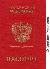 Russian passport.