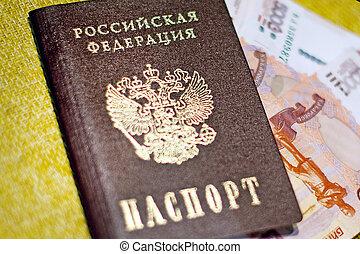 Russian passport, Russian money