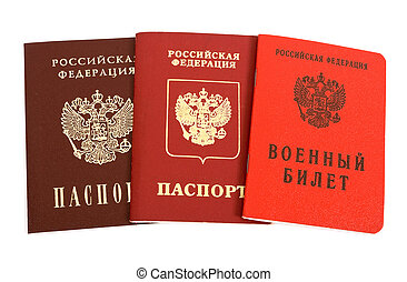 Russian passports and Military ID