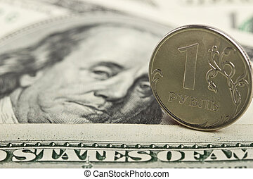 Russian ruble against the background of the Iron dollars
