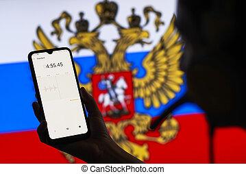 Russian Secret Service officer recording conversations
