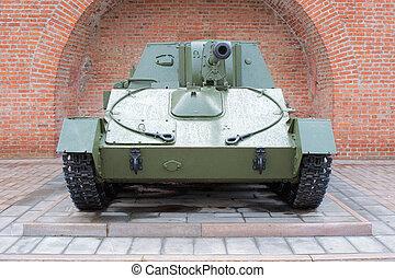 Russian self-propelled gun SU-76