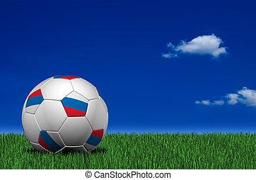Russian soccer ball