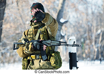 Russian soldier