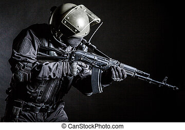 Russian special forces operator