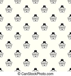Russian style pattern vector seamless repeat for any web...