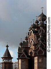 russian wooden church