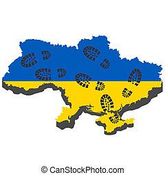 russische, aggression, in, ukraine