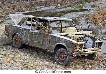 russische , auto, gangster