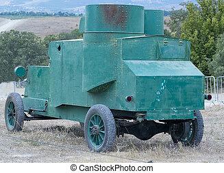 russische, gepanzert, auto