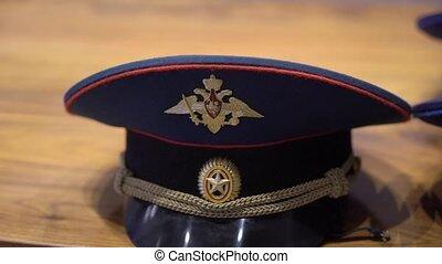 russische , officer's, pet, leger