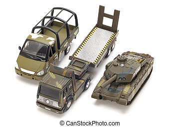 russisk, militær, transport