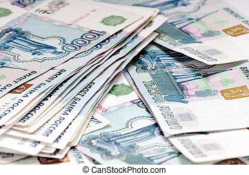 russo, dinheiro