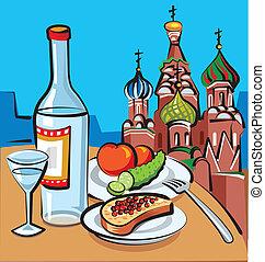 russo, vodca