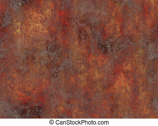 Abstract generated rust metal surface seamless background
