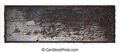 Rust Metal plate